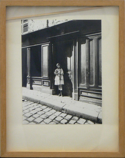 Untitled (photo of girl with fur stole)