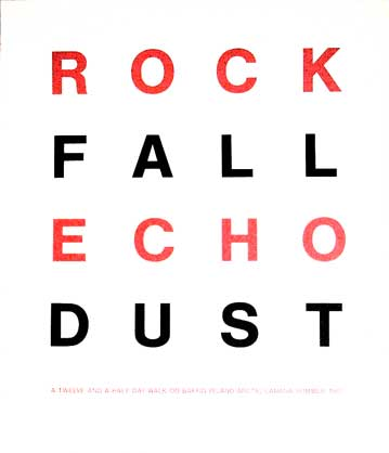 Suite of 14 Works: Rock Fall Echo Dust