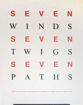 Suite of 14 Works: Seven Winds