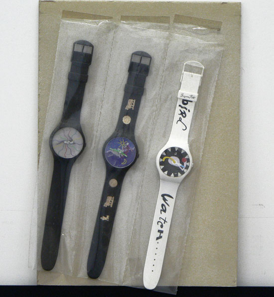 Untitled (3 watches)