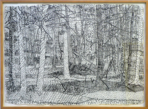 Untitled Drawing of Trees