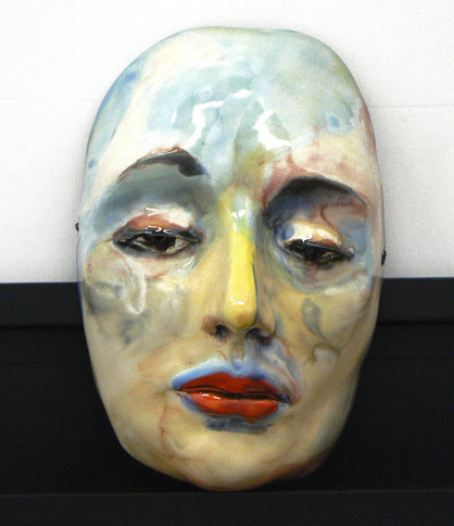 From Your Home on the Range (ceramic mask)