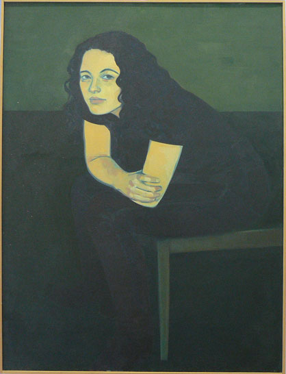 Untitled (portrait of a girl)